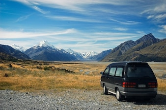 Travel to Mount Cook National Park free photo