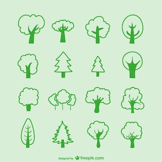 Tree sketches pack