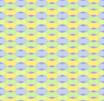 Trend creative tileable stylish colorful