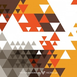 Triangle decoration abstract background