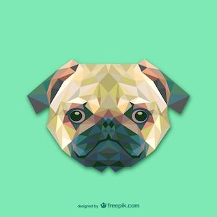 Triangle dog design