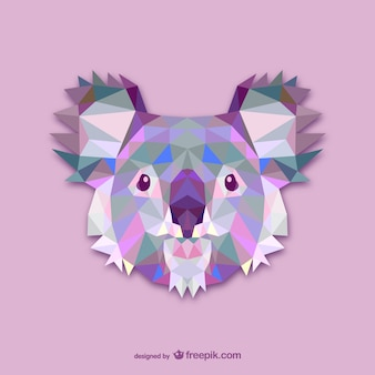 Triangle koala design