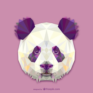 Triangle panda design
