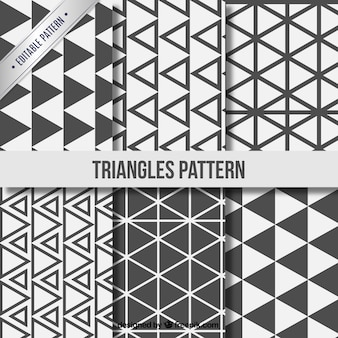 Triangle patterns collection