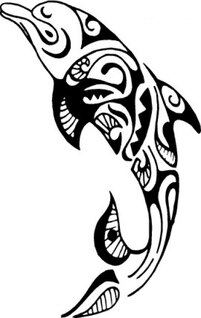 Tribal dolphin design
