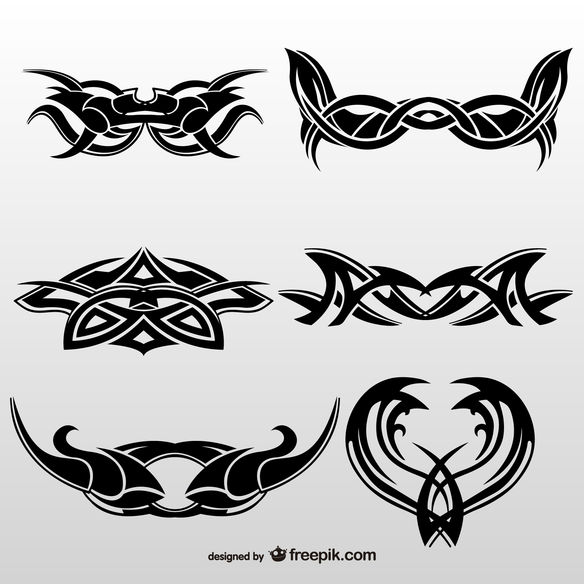 Tribal tattoos art collection