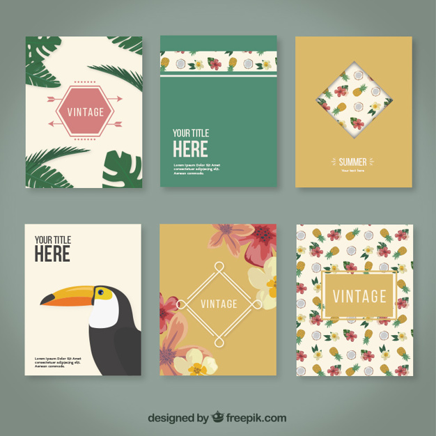 Tropical brochures