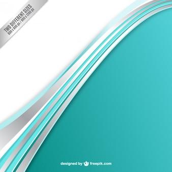 Turquoise wave background