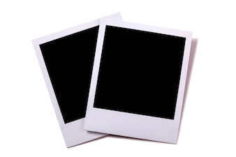 Two instant photograph