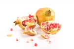 Two pomegranates view