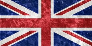 uk grunge flag  ancient