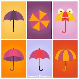 Umbrellas collection