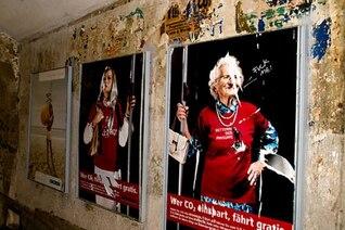 Underground posters