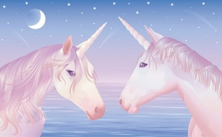 Unicorn Vector material