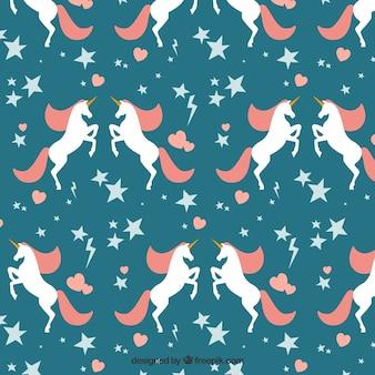 Unicorns pattern