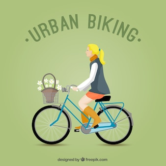 Urban biking