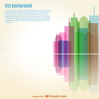 Urban vector wallpaper