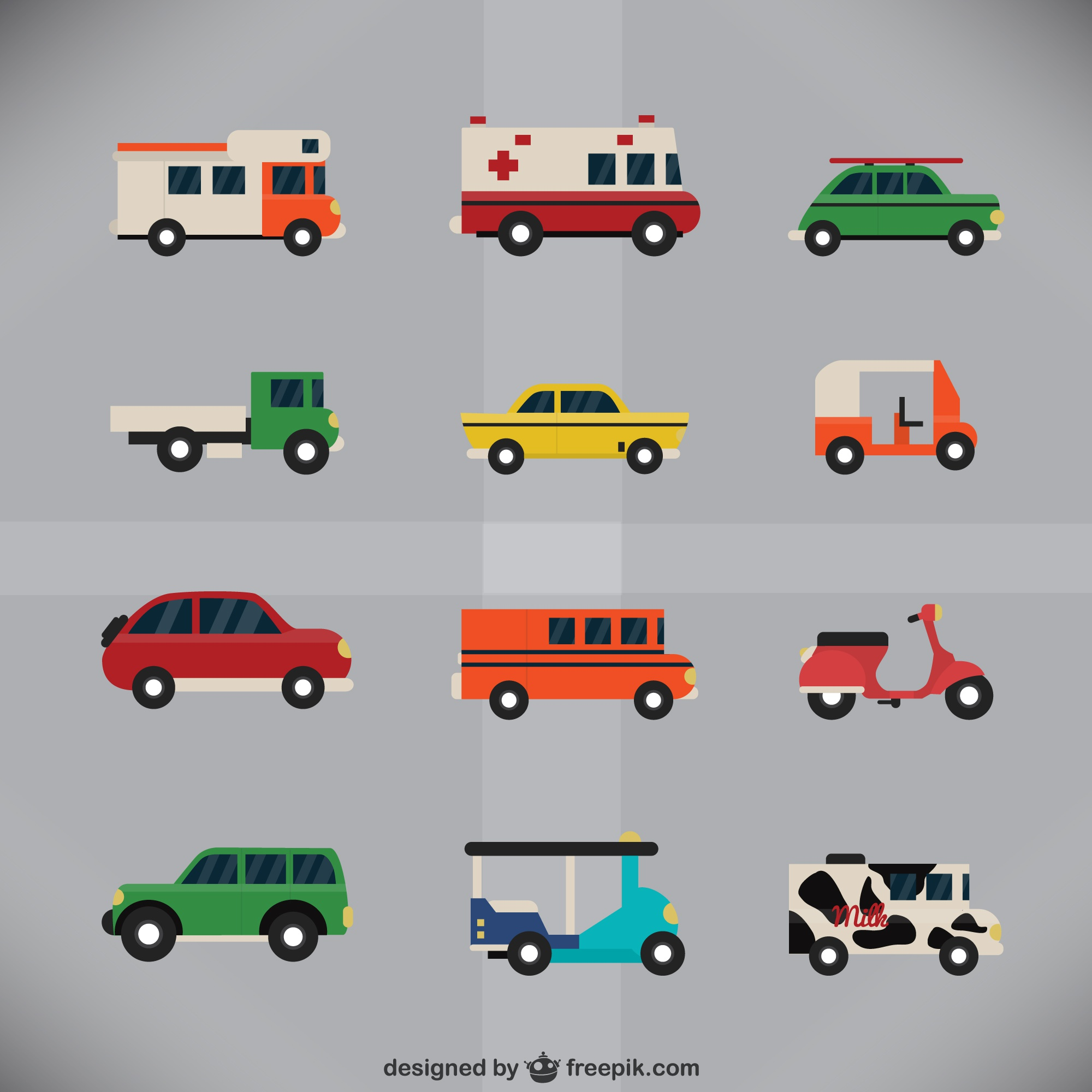 Urban vehicles collection