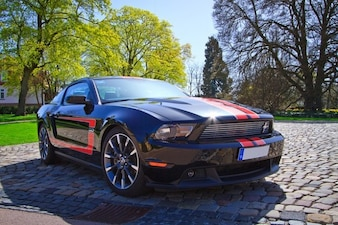 Us car cs mustang ford muscle gt