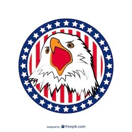 USA Eagle vector