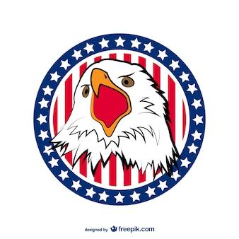 USA Eagle vector