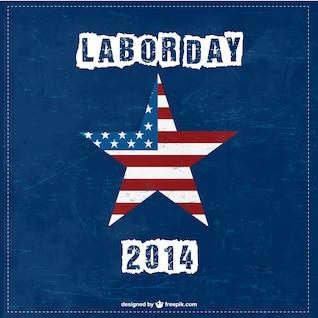 USA Labor's day free vector