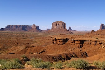 Usa utah monument tourist attraction desert valley