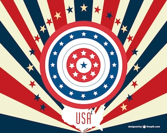 USA vector free download