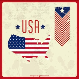 USA vector free graphic