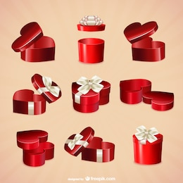 Valentine boxes collection