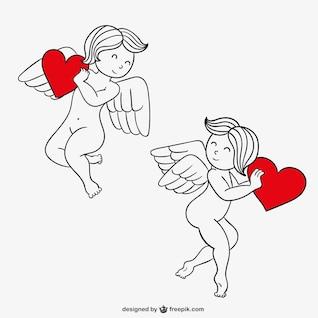 Valentine's Day cupids