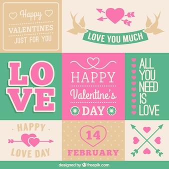 Valentine's Day stationery greetings
