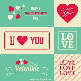 Valentine stationery greetings