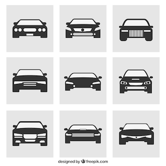 Variety of cars