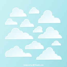 Variety of clouds