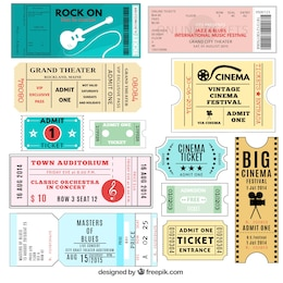 Variety of tickets