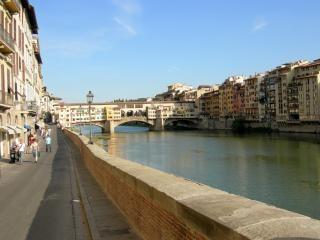 Vecchio bridge in florence  italy  artistic
