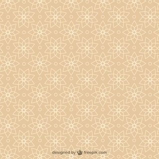 Vector abstract arabesque background