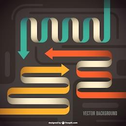 Vector arrows free design