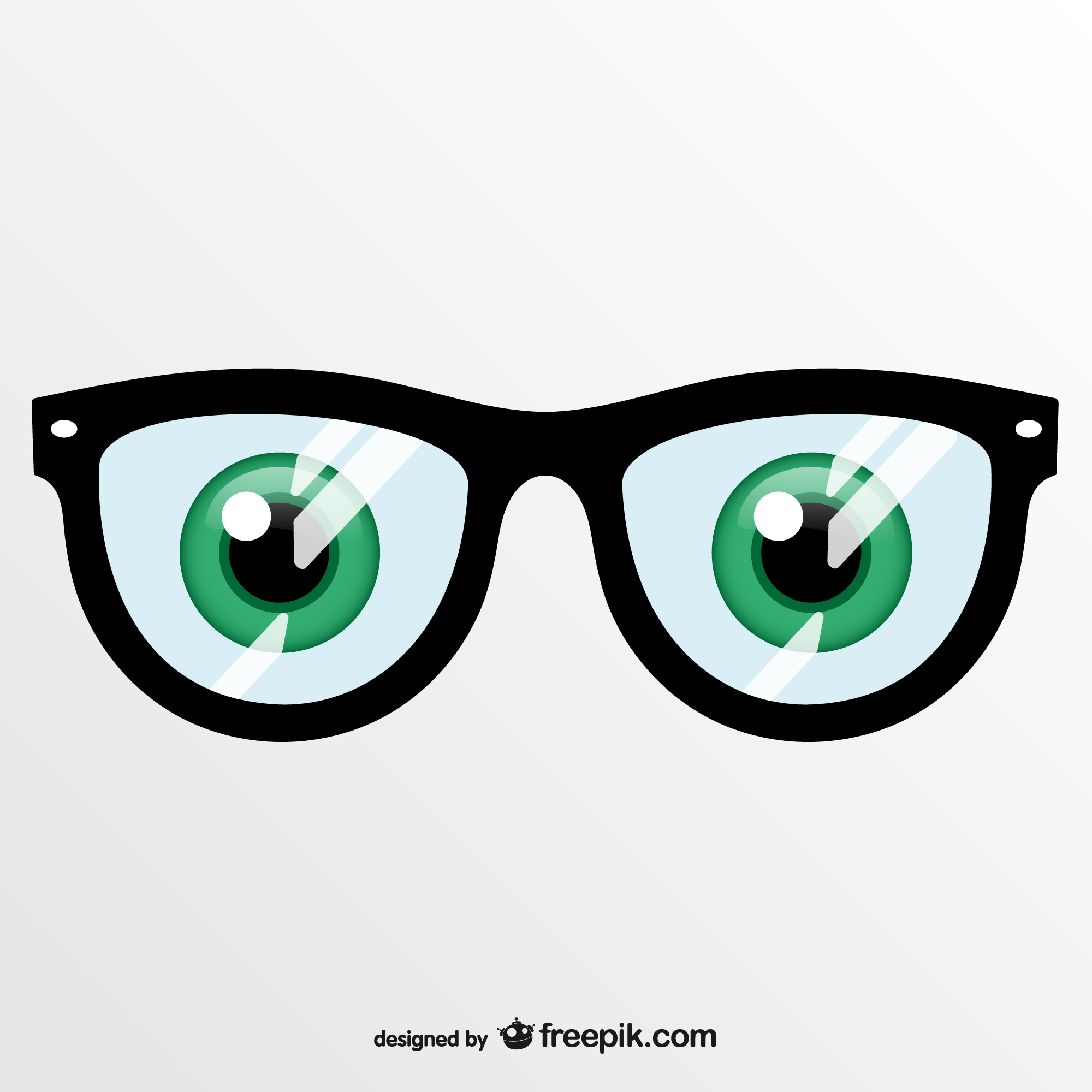 Vector art eye glasses