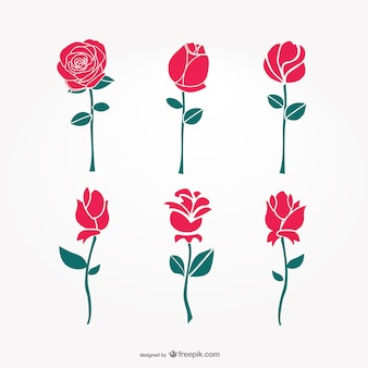 Vector art flowers
