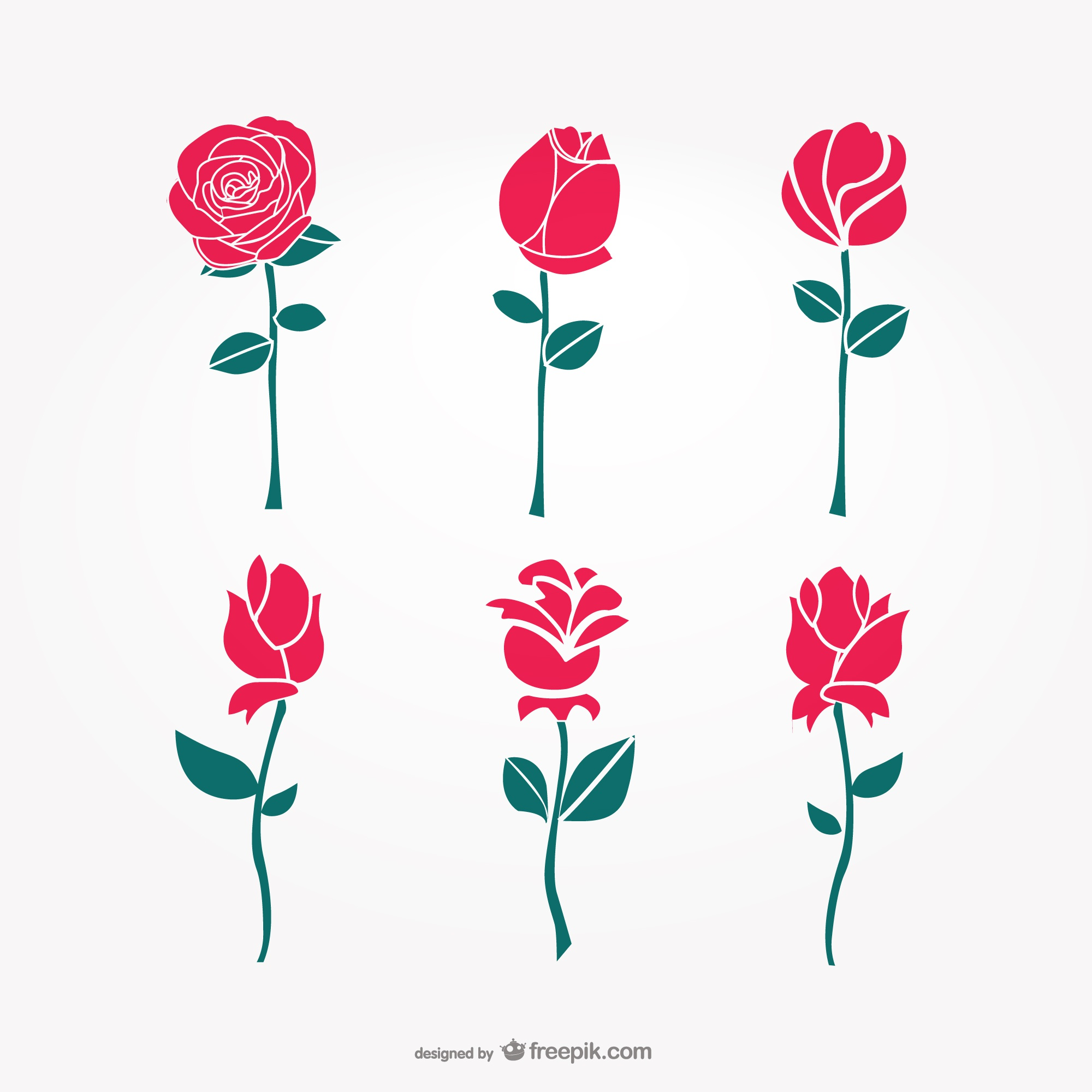 Vector art flowers