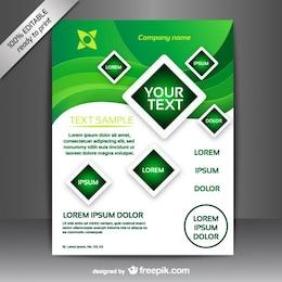 Vector brochure free design
