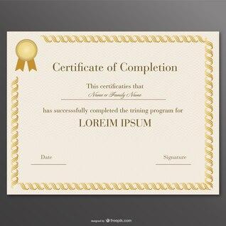 Vector certificate design