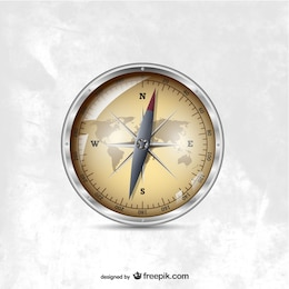 Vector compass illustration
