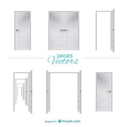 Vector doors graphic elements