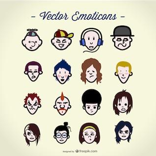 Vector people avatars