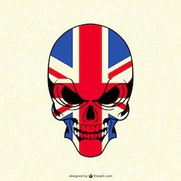 Vector skull free graphics
