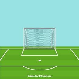 Vector soccer field free for download