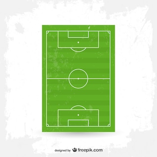 Vector soccer field free graphics